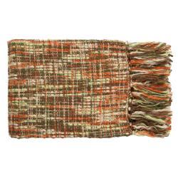 Timber Woven Acrylic Throw