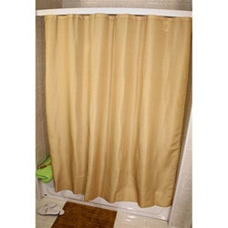 Trellis Design Gold Shower Curtain