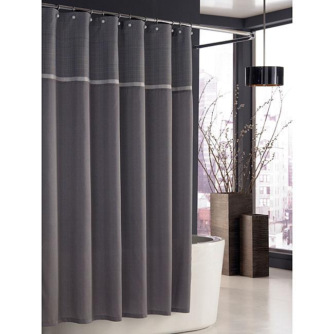 Trump Home Parc East Grid Shower Curtain