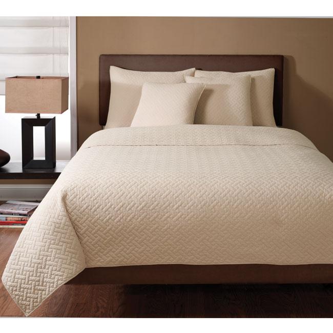 Wexford Sandalwood 3-piece Quilt Set