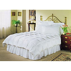 White 230 Thread Count Down Alternative Comforter (3 options available)