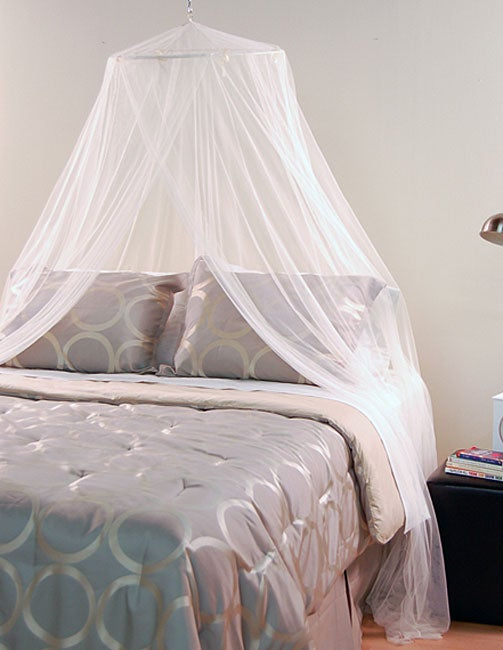 White Mosquito Net Canopy - Free Shipping On Orders Over $45 ...