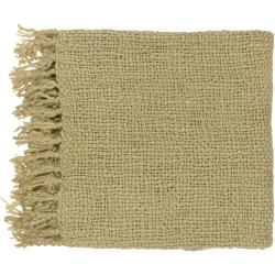 Woven Berk Acrylic and Wool Throw Blanket