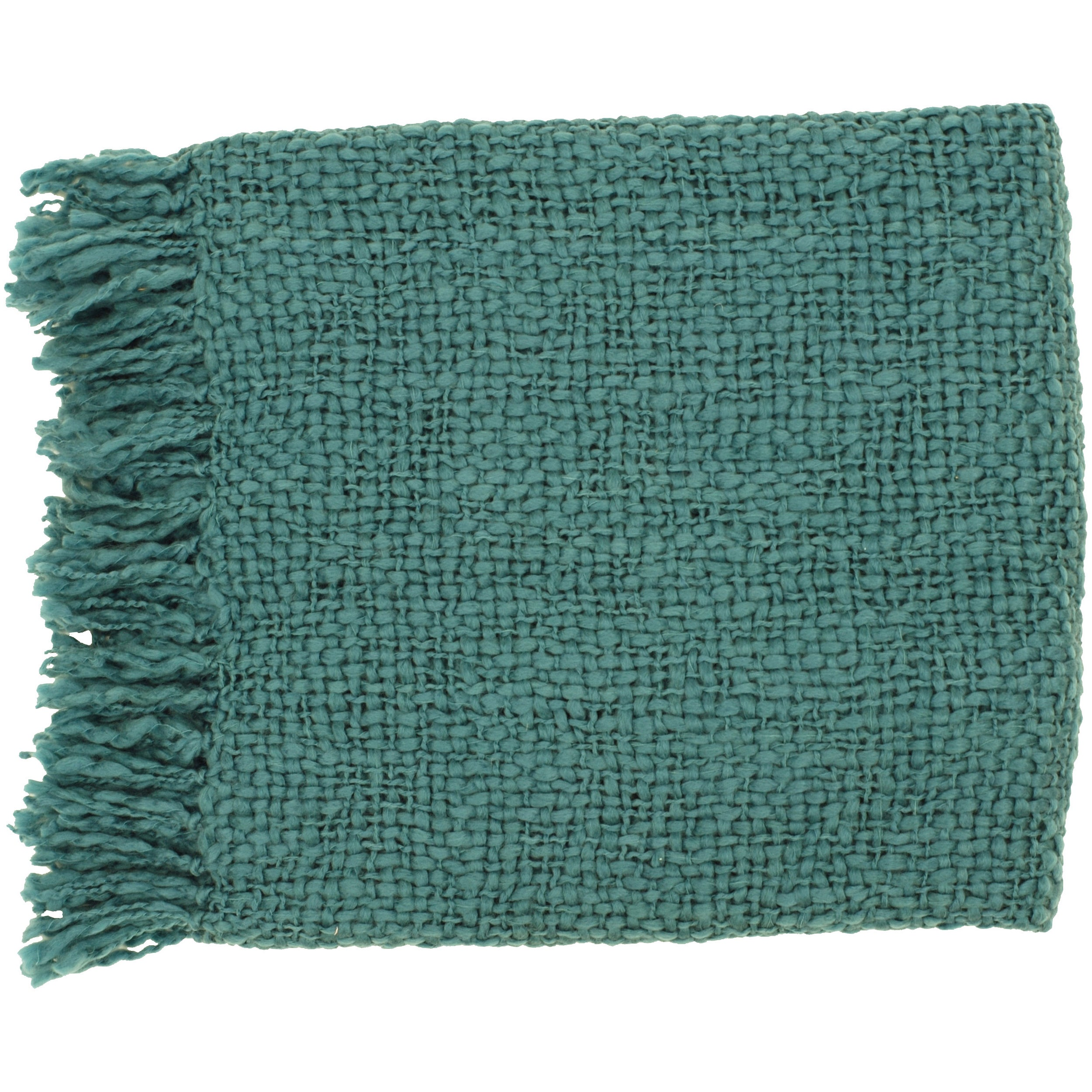 Woven Brandye Acrylic and Wool Throw Blanket