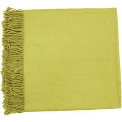Woven Fang Rayon from Bamboo and Cotton Throw