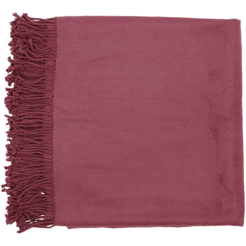 Woven Taipan Rayon from Bamboo Cotton Throw