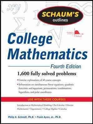 College algebra schaum pdf