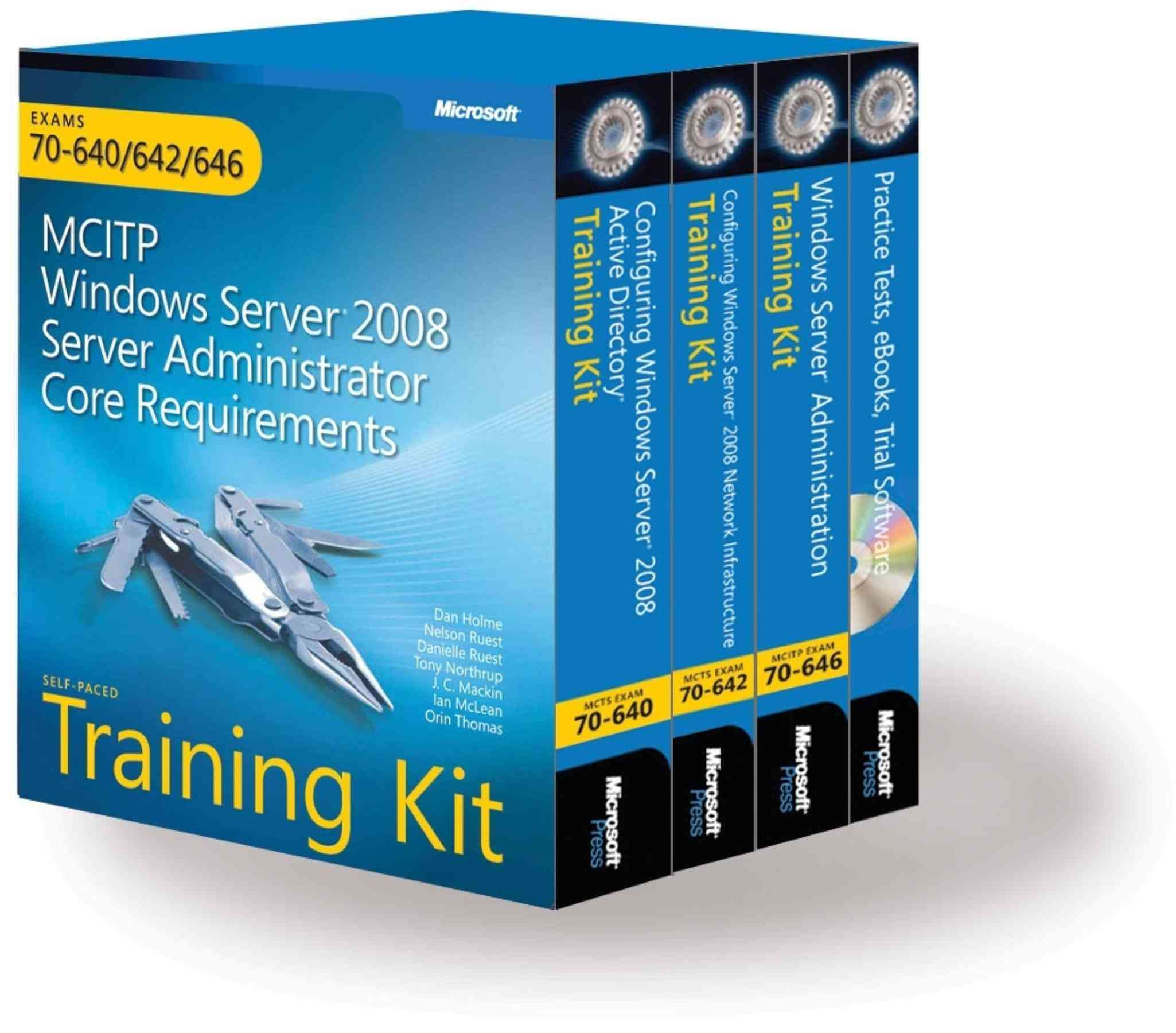 MCITP: Windows Server 2008 Enterprise Administrator- Study ...