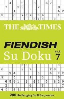 The Times Fiendish Su Doku Book 7 (Paperback)