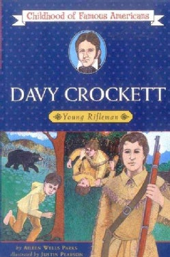 Davy Crockett: Young Rifleman (Paperback)