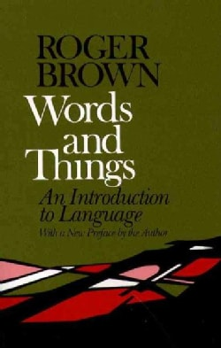 Words and Things (Paperback)