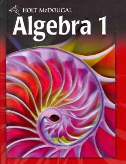 Algebra 1, Grades 9-12 (Hardcover)