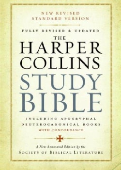 Holy Bible: The Harpercollins Study Bible, New Revised Standard Version: Including The Apocryphal/Deuterocanonica... (Hardcover)