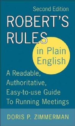 Robert's Rules In Plain English (Paperback)