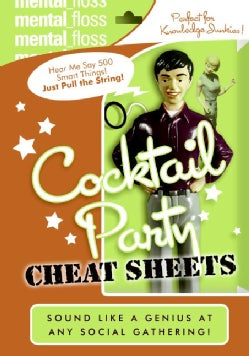 Mental Floss: Cocktail Party Cheat Sheets (Paperback)