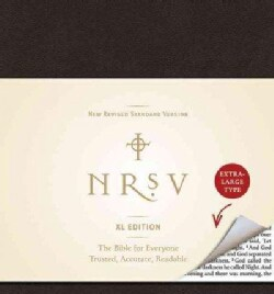 Holy Bible: New Revised Standard Version, Black, Xl (Paperback)