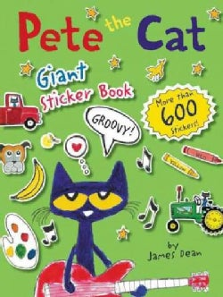 Pete the Cat Giant Sticker Book (Paperback)