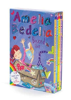 Amelia Bedelia Chapter Books Box Set (Paperback)