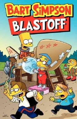Bart Simpson Blastoff (Paperback)