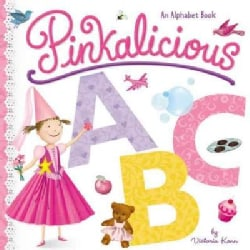 Pinkalicious ABC: An Alphabet Book (Board book)