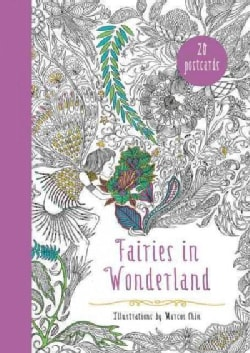 Fairies in Wonderland Adult Coloring Book: An Interactive Coloring Adventure for All Ages (Paperback)