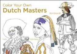 Color Your Own Dutch Masters (Paperback)