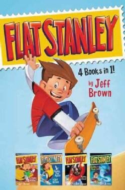 Flat Stanley: 4 Books in 1!: Flat Stanley, His Original Adventure; Stanley, Flat Again!; Stanley in Space; Stanle... (Hardcover)