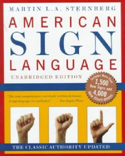 American Sign Language Dictionary (Hardcover)