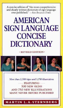 American Sign Language Concise Dictionary (Paperback)