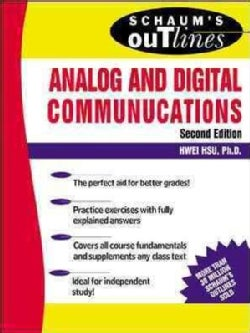 Schaum's Outline of Theory and Problems of Analog and Digital Communications (Paperback)