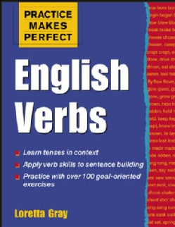 Practice Makes Perfect English Verbs (Paperback)