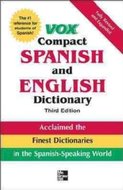 Vox Compact Spanish and English Dictionary (Hardcover)