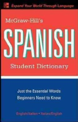 McGraw-Hill's Spanish Student Dictionary (Paperback)