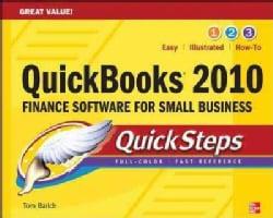 Quickbooks 2010 Quicksteps (Paperback)
