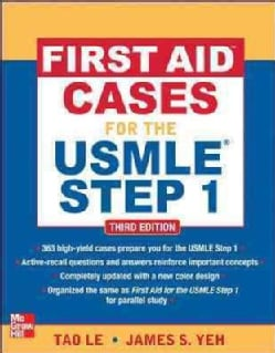 First Aid Cases for the USMLE Step 1 (Paperback)