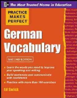 German Vocabulary (Paperback)