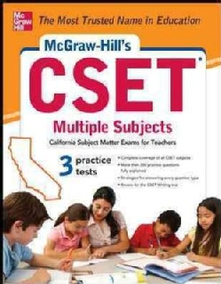 McGraw-Hill's CSET Multiple Subjects (Paperback)