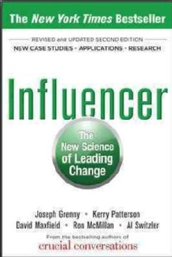 Influencer: The New Science of Leading Change (Hardcover)