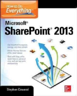 How to Do Everything Microsoft SharePoint 2013 (Paperback)