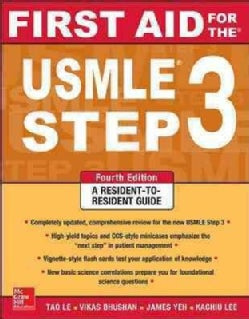 First Aid for the USMLE Step 3 (Paperback)