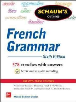 Schaum's Outlines of French Grammar (Paperback)