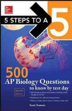 500 Ap Biology Questions to Know by Test Day (Paperback)