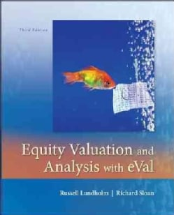 Equity Valuation and Analysis with eVal (Hardcover)