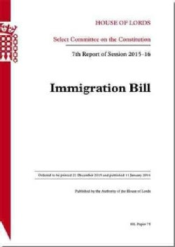 Immigration Bill (Paperback)