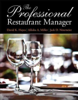 The Professional Restaurant Manager (Paperback)