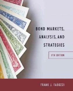 Bond Markets, Analysis, and Strategies (Hardcover)