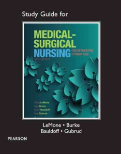 Medical-Surgical Nursing: Clinical Reasoning in Patient Care (Paperback)