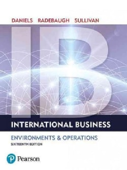 International Business: Environments & Operations (Hardcover)