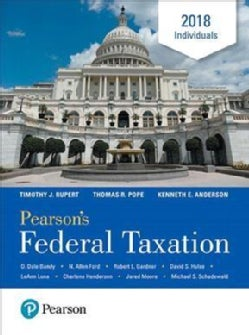 Pearson's Federal Taxation Individuals 2018 (Hardcover)