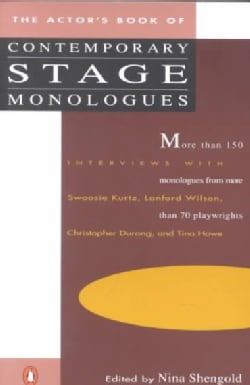 The Actor's Book of Contemporary Stage Monologues (Paperback)